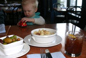Copper Kitchen Happy Hour Mac & cheese, Olives