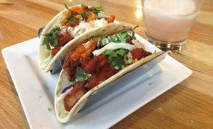 Taqueria 27 Buffalo Chicken Tacos Sunday Special