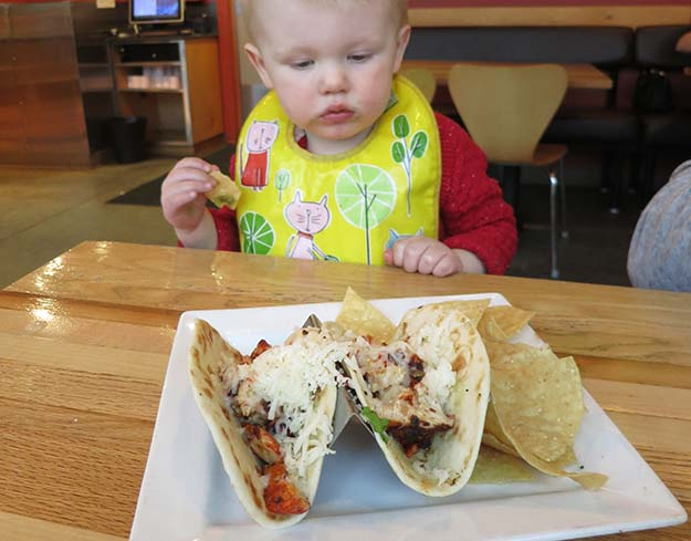 Taqueria 27 Kids Menu Chicken Tacos