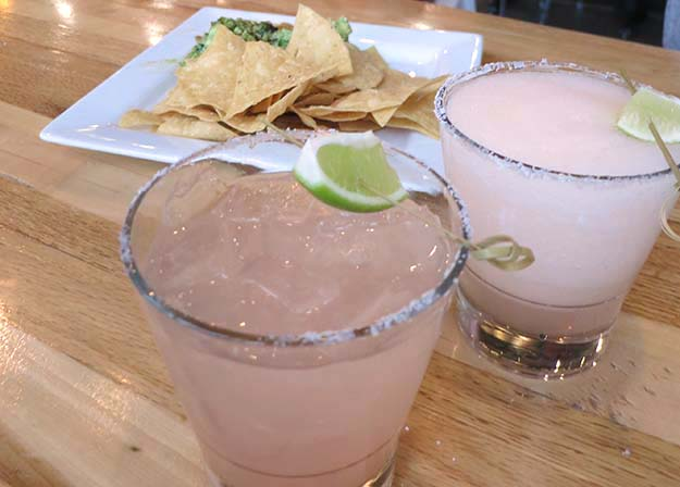 Taqueria 27 T27 Margarita with Blood Orange and Agave