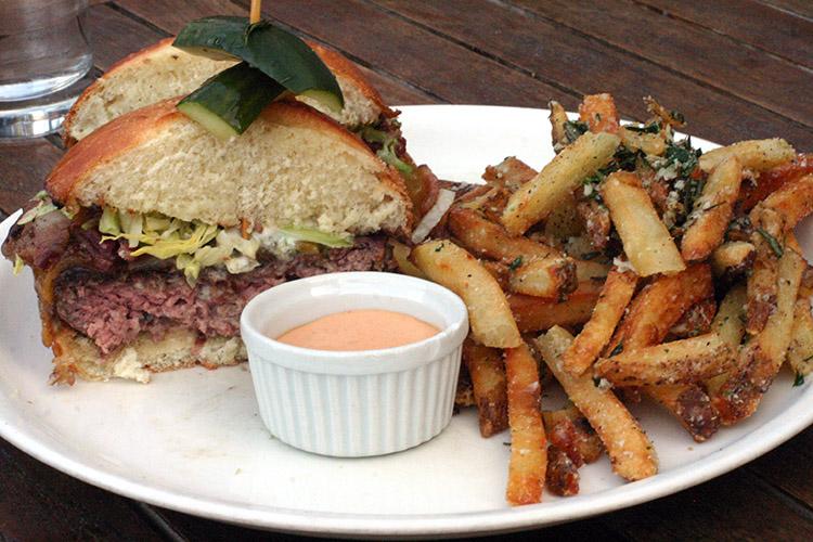 Copper Kitchen Happy Hour CK Burger