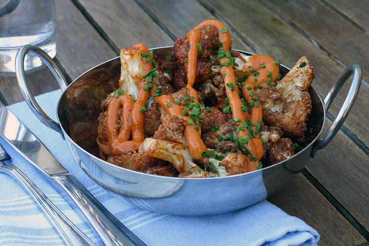 Copper Kitchen Cauliflower Bravas