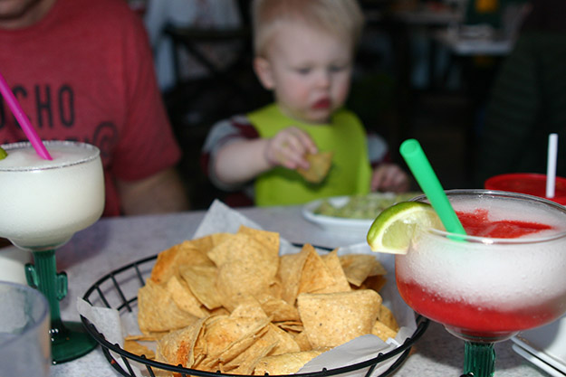 Chile Tepin Chips & Margaritas