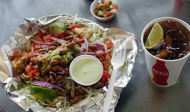 Cinco de Mayo week in Utah Lonestar Taqueria Fish Salad