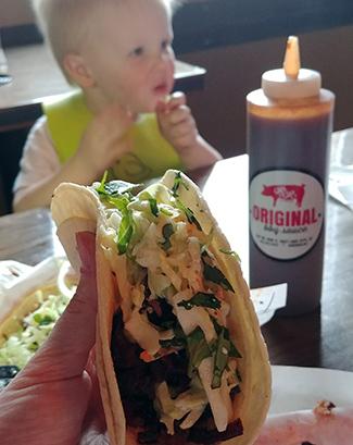 R&R Brisket Tacos