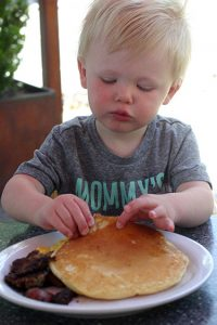 Brunch Roots Cafe Kids Breakfast