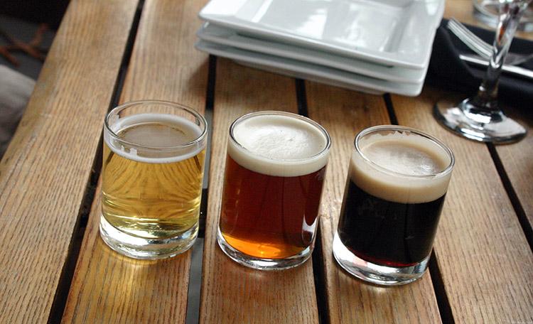 Avenues Proper ever-changing menu Beer Samplers