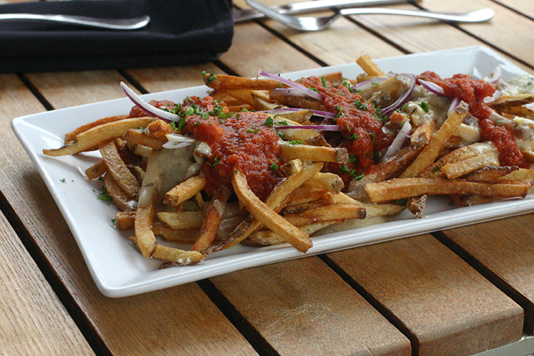 Avenues Proper ever-changing menu Rarebit Fries