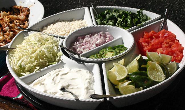 Taco TWOsday Fiesta Birthday Taco Toppings